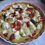 Rezepte mit Spargel: ©Spargel-Quiche mit Ziegenfrischkäse 004