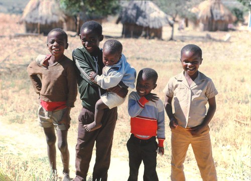 Friendly villagers - Zimbabwe