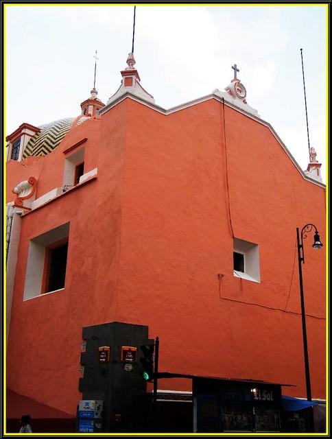 Ex Convento y Parroquia de Santa Clara (Puebla de los Ángeles) México