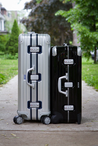 "Rimowa Silver Integral 29"" and Limbo 26"""