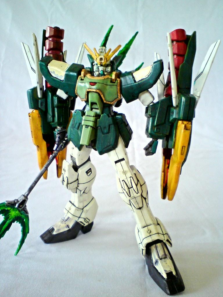 HG 1/144 Gundam Nataku - a photo on Flickriver