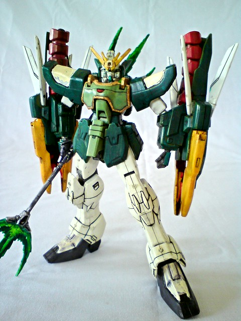 HG 1/144 Gundam Nataku | Flickr - Photo Sharing!
