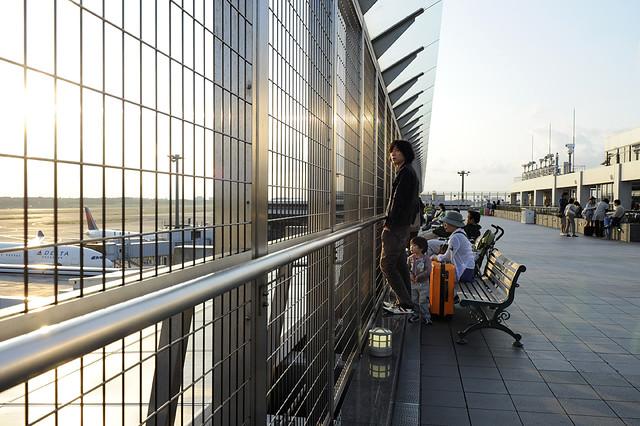 Narita Airport Terminal 1 Observation Deck DSC6778