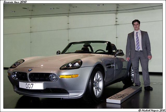 Bmw Z8 James Bond 007 Bmw Museum Micha 235 L Flickr