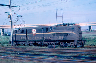 Newark - Pennsylvania Railroad GG1 Locomotive