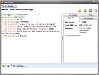 Live Chat agent client