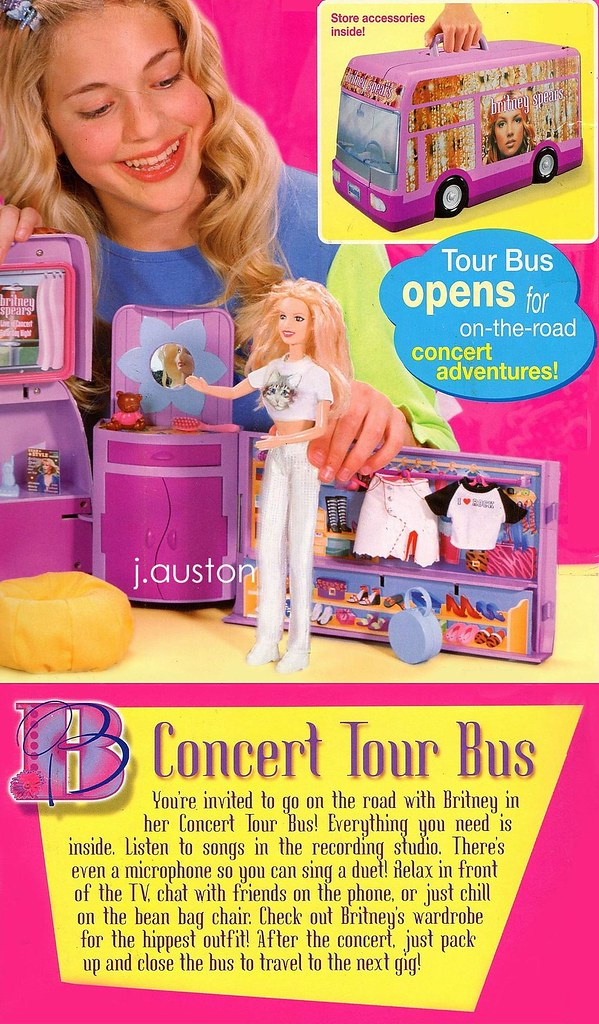 Britney Spears Doll Concert Tour Bus The Britney Concert T Flickr