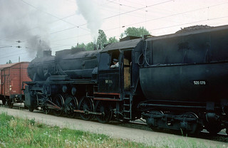 37. Gysev 520.079 in Ebenfurth shunting yard