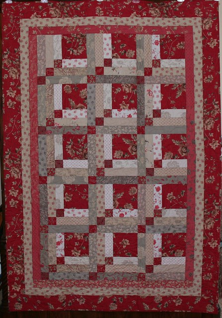 French general rouenneries quilt pattern is upstairs and for Red door design quilts