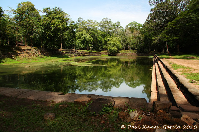 Pond in the Royal Palace, Angkor Thom