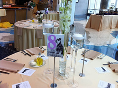table, centrepiece, rehearsal dinner,