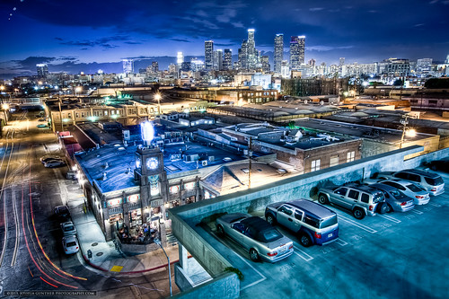 california ca city longexposure urban skyline night canon buildings landscape photography la losangeles los downtown cityscape skyscrapers angeles joshua cityscapes 5d hdr gunther mkii joshuagunther
