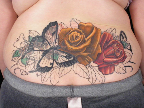 Dollkemprot lower back tattoo cover up for Cover up tattoos ideas for lower back