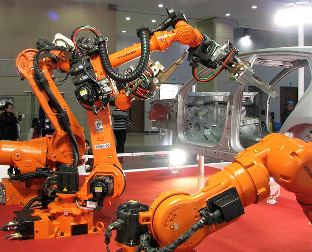 Positive impacts of robots