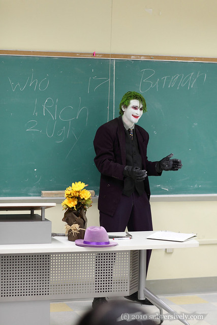 Joker's Lecture