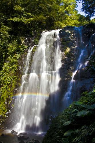 canon landscape waterfall rainbow taiwan taipei 三峽 瀑布 彩虹 滿月圓 處女瀑布 canoneos550d