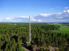 Mobile phone mast in V�yri 2017