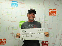William Bicknell - $5,000 - Lucky For Life - Caldwell - 44 Quick Stop