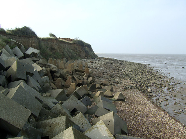 The beach north of Grain