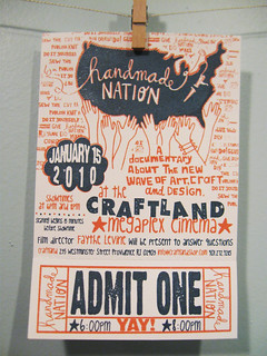 Handmade Nation tickets!!