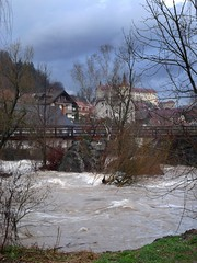 High water in Puštal