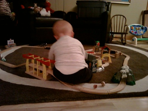 Still playing with the trains... by bfisk99