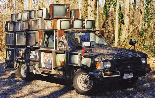 Photo:Television Truck - not something you see every day. By:bsouthj