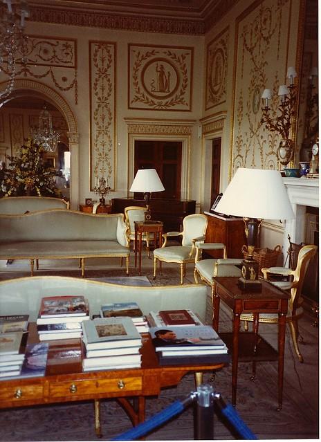 Broadlands Interior Broadlands House At Romsey In