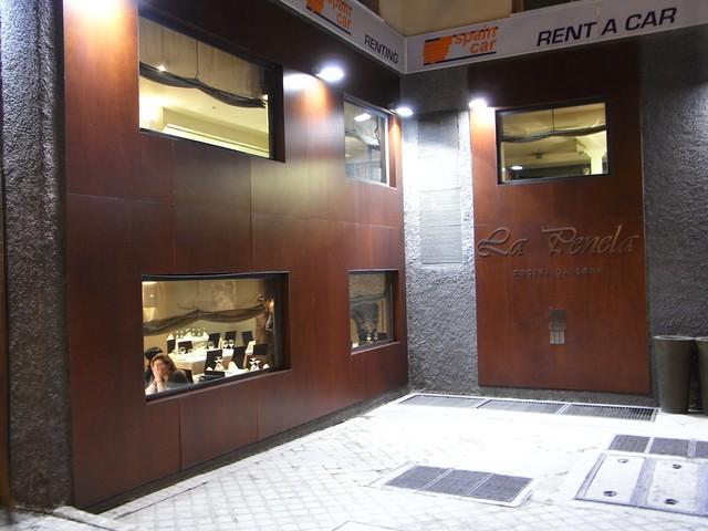 Fachada del Restaurante La Penela