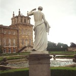 Blenheim Palace - Statue - 1993