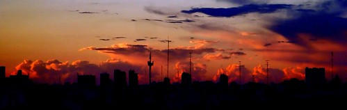 city sunset argentina clouds atardecer buenosaires ciudad nubes ocaso