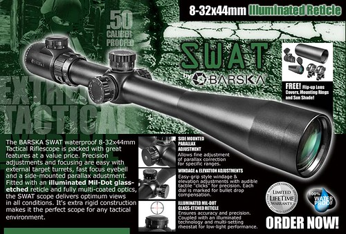Barska 8-32x44 IR SWAT Tactical Extreme
