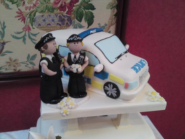 Police Car Wedding Cake Flickr Photo Sharing
