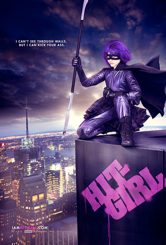 KICK-ASS - Hit Girl Poster