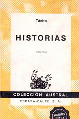 Tácito, Historias