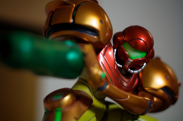 Samus model close-up