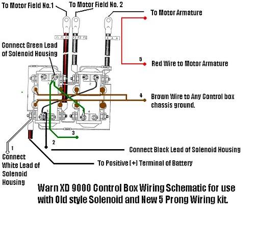 Warn Xd9000 Solenoid Wiring
