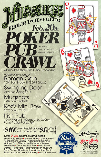 Poker pub crawl