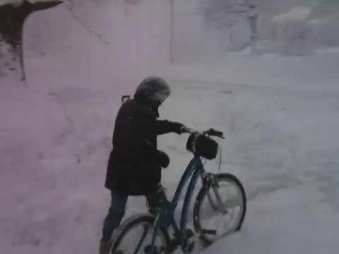 Snowbike!