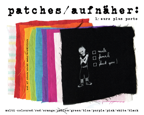 .patches/aufnäher.