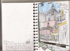 Sevilla, espalda de la Iglesia del Salvador