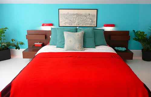 red and blue bedroom | top-tuto