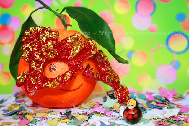 foto frutta divertente arancia divertente