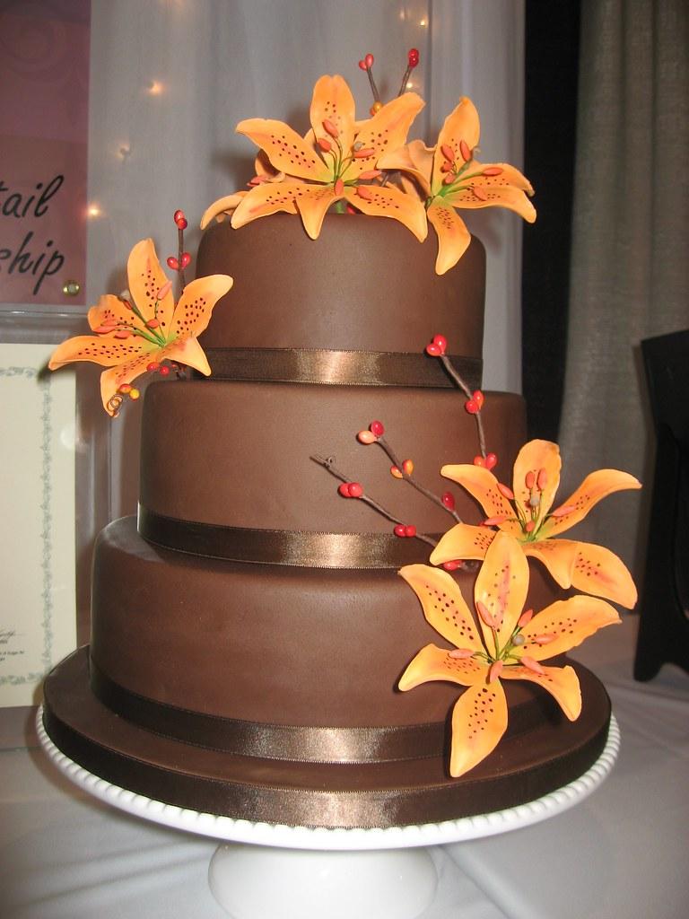 Tiger Chocolate Cake