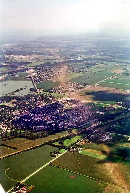 Plainfield IL Tornado Track 02