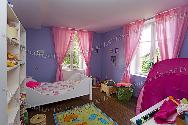 Chambre de petite fille (France). Flickr - Photo Sharing!