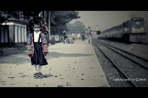 Meena Goes To School
