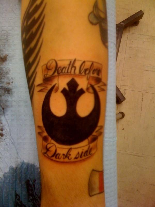 Star Wars Rebel Tattoo A Photo On Flickriver