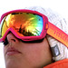Ski Goggle Reflection