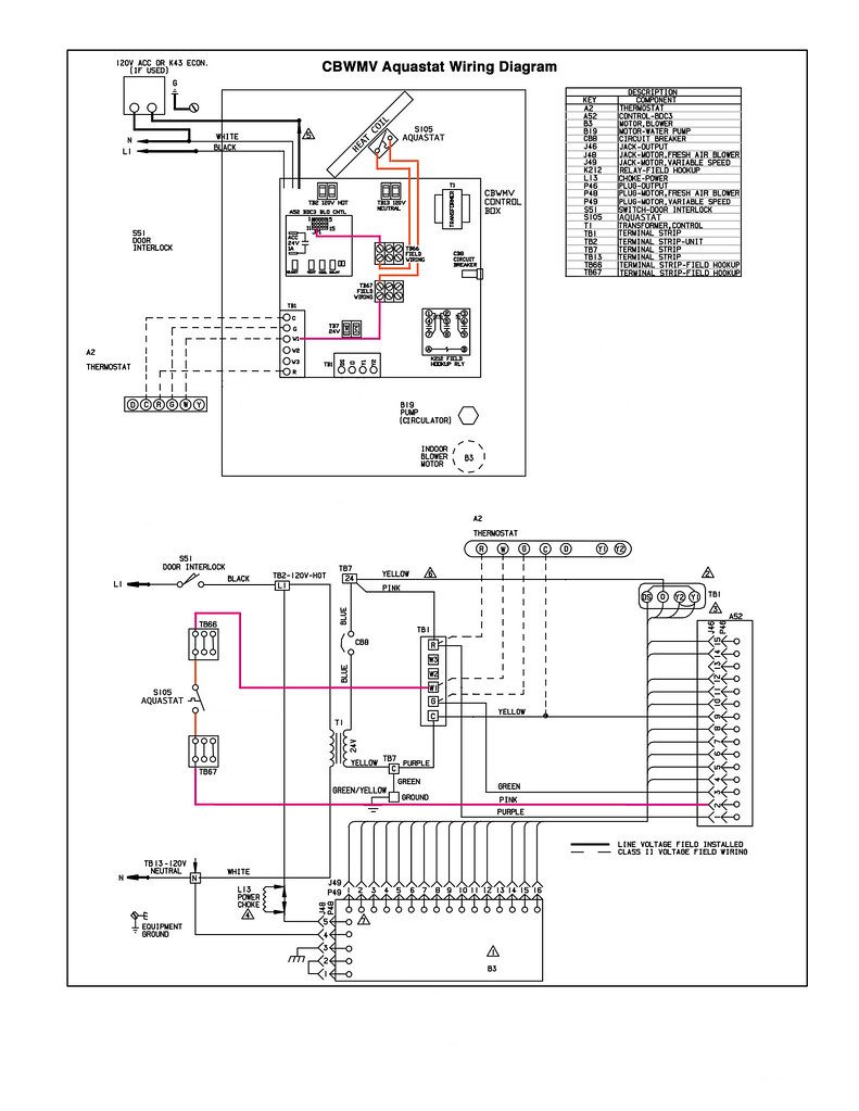 Lennox Air Handler Wiring Diagram Diagrams Heat Pump Tradeline L6006c Aquastat To Cbwmv Hydronic Conditioner Schematic